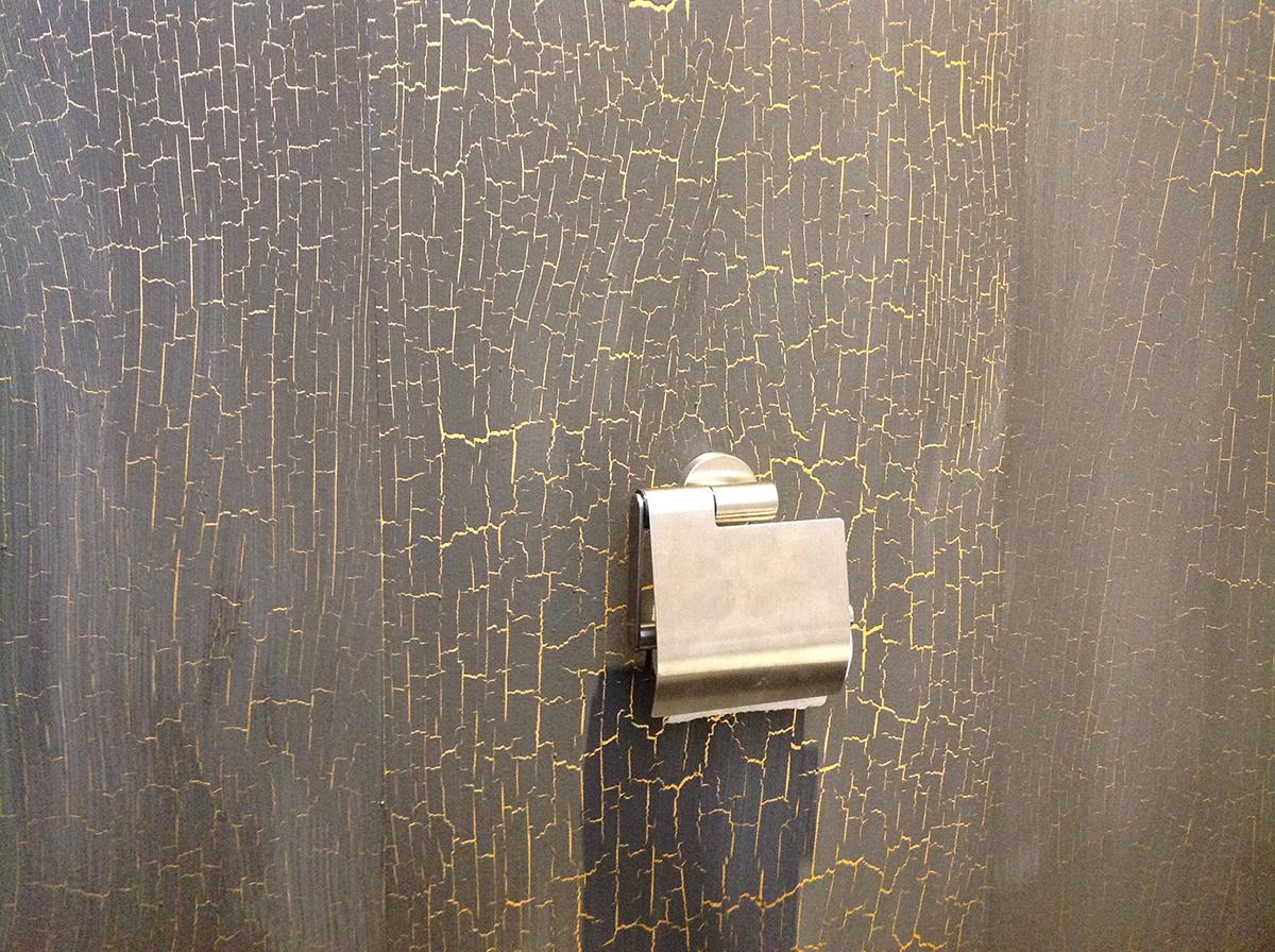 Badkamer mozaiek zwart zilver strak milovito glasmozaïek